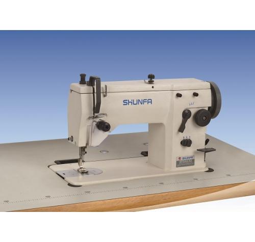 Одноигольная швейная машина зиг-заг Shunfa SF 20U43 - фото в интернет–магазине швейных машинок и аксессуаров в Украине - Sewgroup