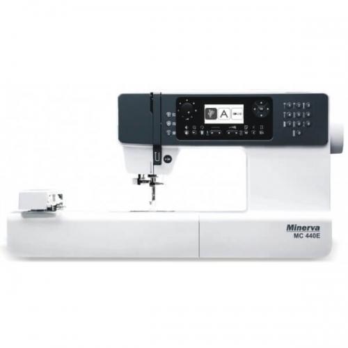 Minerva MC 440 E - фото в інтернет-магазині швейних машинок і аксесуарів в Україні - Sewgroup