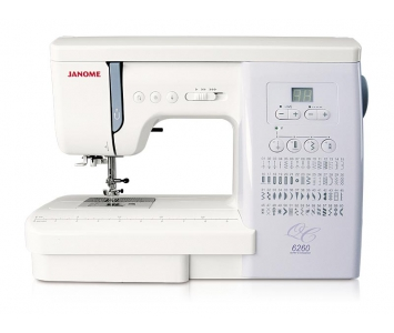 Електромеханічна швейна машина Janome 6260 QC