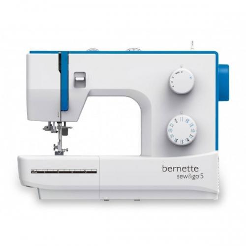 Швейная машина Bernina Bernette Sew&go 5 - фото в интернет–магазине швейных машинок и аксессуаров в Украине - Sewgroup