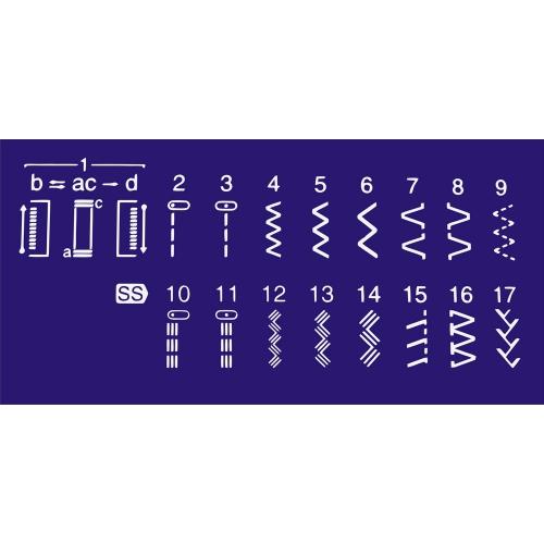 Електромеханічна швейна машина Brother XL-6040