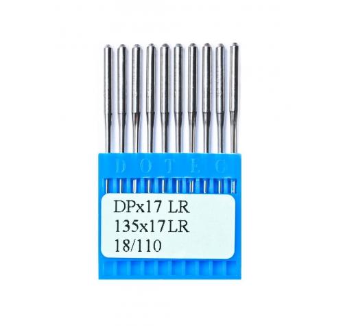 Голки DOTEC Needle DPx17 LR №110 - фото в інтернет-магазині швейних машинок і аксесуарів в Україні - Sewgroup