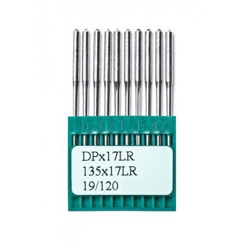 Голки DOTEC Needle DPx17 LR №120 - фото в інтернет-магазині швейних машинок і аксесуарів в Україні - Sewgroup