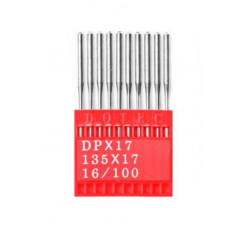 Голки DOTEC Needle DPx17 №100 - фото в інтернет-магазині швейних машинок і аксесуарів в Україні - Sewgroup