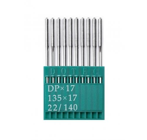 Иглы DOTEC Needle DPx17 №140 - фото в интернет–магазине швейных машинок и аксессуаров в Украине - Sewgroup