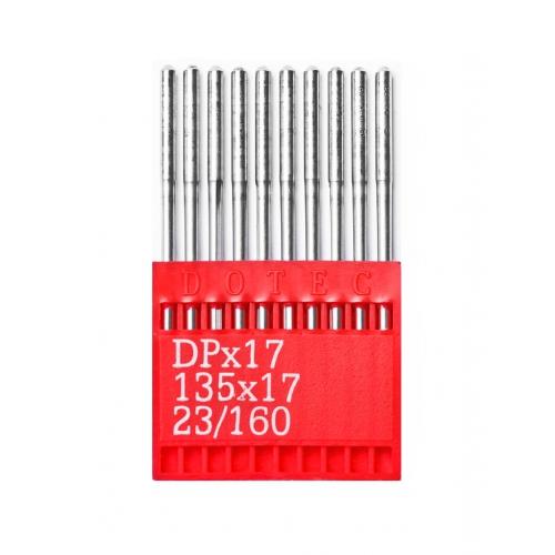 Иглы DOTEC Needle DPx17 №160 - фото в интернет–магазине швейных машинок и аксессуаров в Украине - Sewgroup