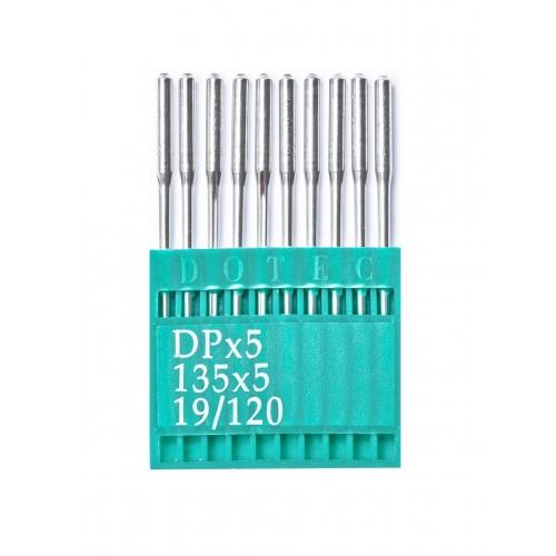 Голки DOTEC Needle DPx5 №120 - фото в інтернет-магазині швейних машинок і аксесуарів в Україні - Sewgroup