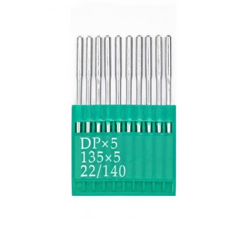 Голки DOTEC Needle DPx5 №140 - фото в інтернет-магазині швейних машинок і аксесуарів в Україні - Sewgroup