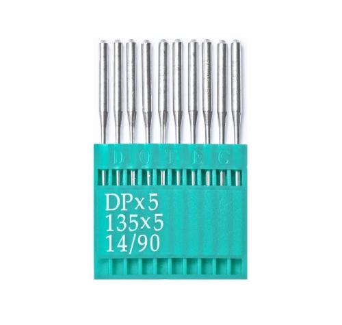 Голки DOTEC Needle DPx5 №90 - фото в інтернет-магазині швейних машинок і аксесуарів в Україні - Sewgroup