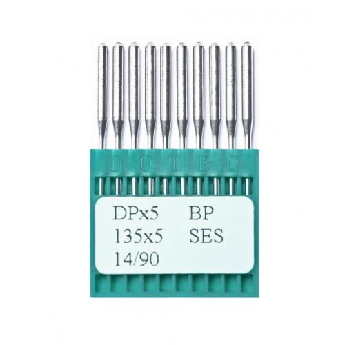 Иглы DOTEC Needle DPx5 BP SES №90 - фото в интернет–магазине швейных машинок и аксессуаров в Украине - Sewgroup