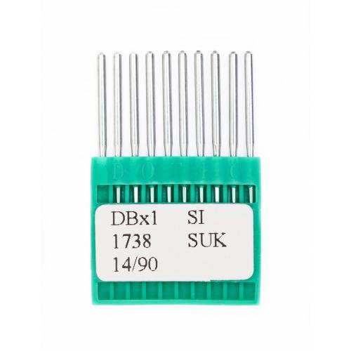 Иглы DOTEC Needle DBx1 SI SUK №90 - фото в интернет–магазине швейных машинок и аксессуаров в Украине - Sewgroup