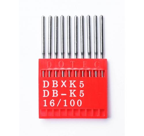 Голки DOTEC Needle DBxK5 №100 - фото в інтернет-магазині швейних машинок і аксесуарів в Україні - Sewgroup