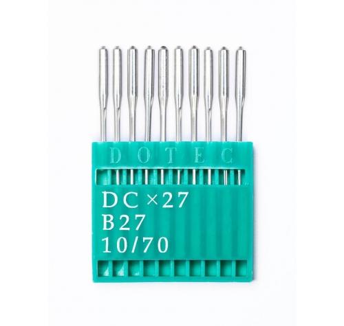 Голки DOTEC Needle DCx27 №70 - фото в інтернет-магазині швейних машинок і аксесуарів в Україні - Sewgroup