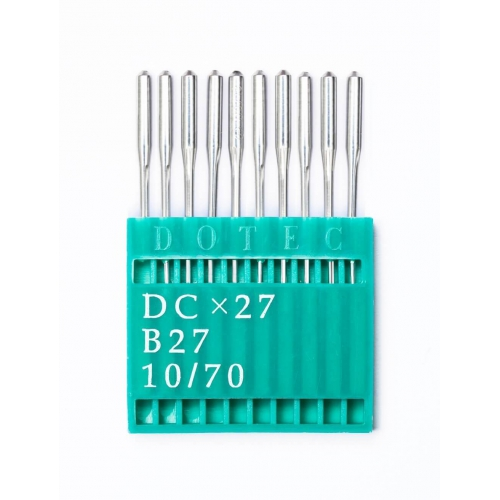 Иглы DOTEC Needle DCx27 №70 - фото в интернет–магазине швейных машинок и аксессуаров в Украине - Sewgroup