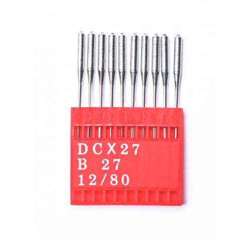 Голки DOTEC Needle DCx27 №80 - фото в інтернет-магазині швейних машинок і аксесуарів в Україні - Sewgroup