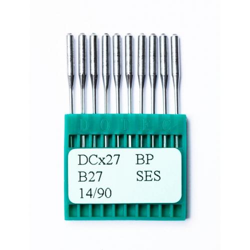 Иглы DOTEC Needle DCx27 BP SES №90 - фото в интернет–магазине швейных машинок и аксессуаров в Украине - Sewgroup