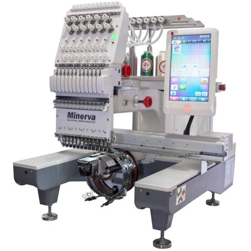 Вишивальна машина Minerva M1201 - фото в інтернет-магазині швейних машинок і аксесуарів в Україні - Sewgroup