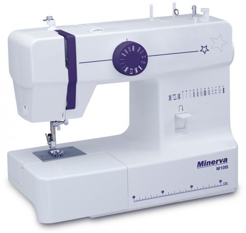 Minerva M10B - фото в интернет–магазине швейных машинок и аксессуаров в Украине - Sewgroup