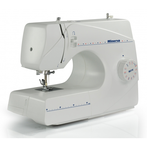 Електромеханічна швейна машина Minerva M21K - фото в інтернет-магазині  швейних машинок і аксесуарів в 0b1563f368aa3