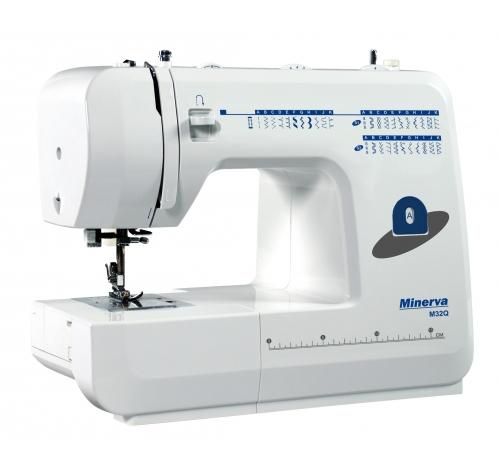 Електромеханічна швейна машина Minerva M32Q - фото в інтернет-магазині швейних машинок і аксесуарів в Україні - Sewgroup