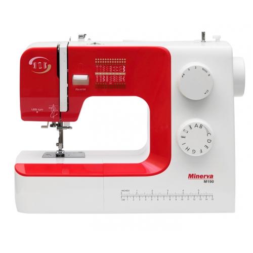 Електромеханічна швейна машина Minerva M190 - фото в інтернет-магазині швейних машинок і аксесуарів в Україні - Sewgroup