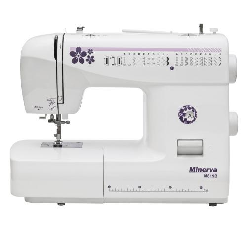 Minerva M819B - фото в інтернет-магазині швейних машинок і аксесуарів в Україні - Sewgroup