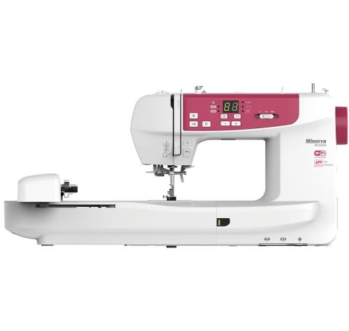 Minerva MC 550W Wi-Fi - фото в интернет–магазине швейных машинок и аксессуаров в Украине - Sewgroup