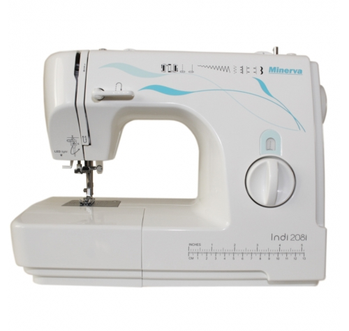 Minerva Indi 208 I - фото в інтернет-магазині швейних машинок і аксесуарів в Україні - Sewgroup