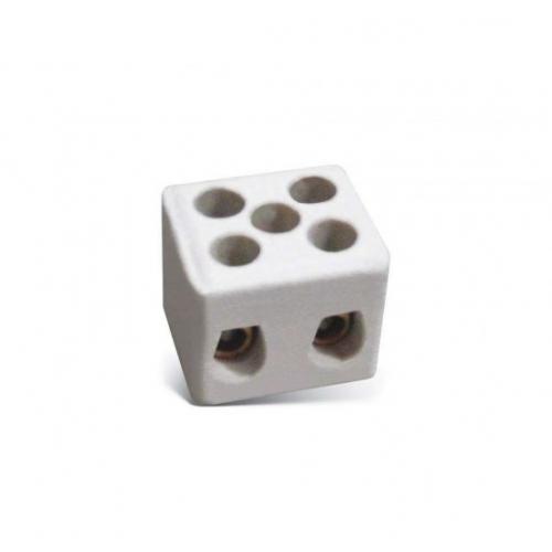 Silter SY KLT 22 Колодка керамическая на 2 разъема - фото в интернет–магазине швейных машинок и аксессуаров в Украине - Sewgroup