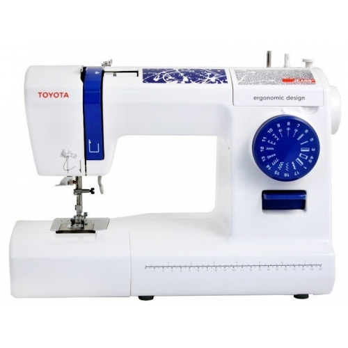Електромеханічна швейна машина Toyota JEANS17C - фото в інтернет-магазині швейних машинок і аксесуарів в Україні - Sewgroup