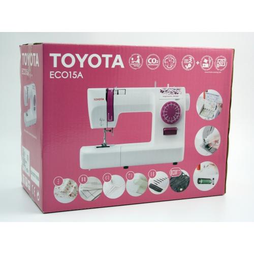Електромеханічна швейна машина Toyota ECO 15 A