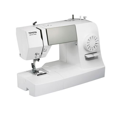 Електромеханічна швейна машина Toyota ERGO 15 D - фото в інтернет-магазині швейних машинок і аксесуарів в Україні - Sewgroup