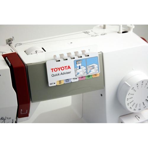 Електромеханічна швейна машина Toyota ERGO 17 D