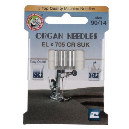 Голки Organ ECO РОЗПОШИВ ELx705CR SUK №80, 90 - фото в інтернет-магазині швейних машинок і аксесуарів в Україні - Sewgroup