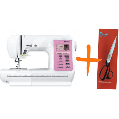 Комп'ютеризована швейна машина Minerva MC100 - фото в інтернет-магазині швейних машинок і аксесуарів в Україні - Sewgroup