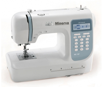 Комп'ютеризована швейна машина Minerva MC 197