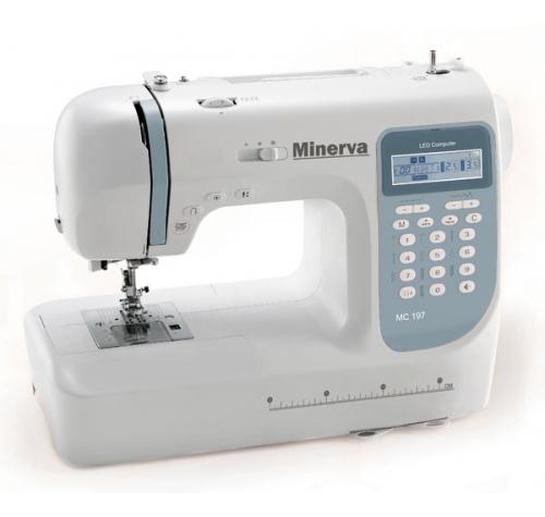 Minerva MC 197 - фото в интернет–магазине швейных машинок и аксессуаров в Украине - Sewgroup