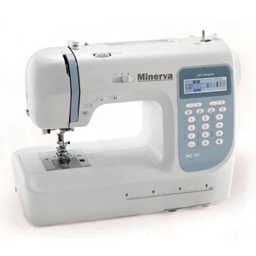 Комп'ютеризована швейна машина Minerva MC 197HC - фото в інтернет-магазині швейних машинок і аксесуарів в Україні - Sewgroup