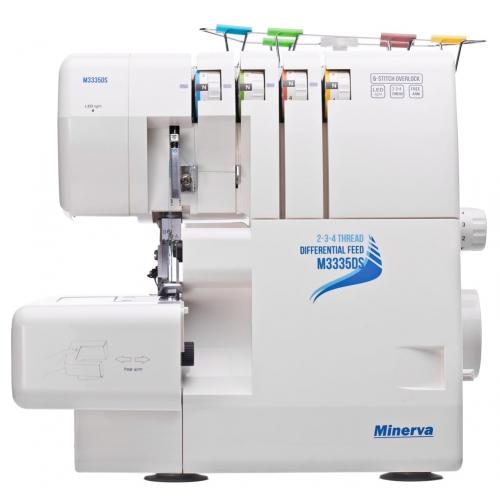 Minerva M3335 DS - фото в интернет–магазине швейных машинок и аксессуаров в Украине - Sewgroup