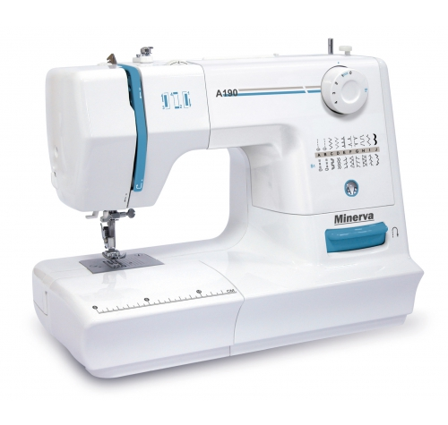 Електромеханічна швейна машина Minerva A190 - фото в інтернет-магазині швейних машинок і аксесуарів в Україні - Sewgroup