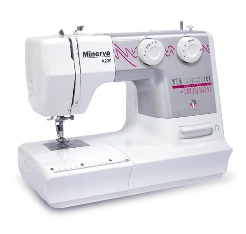 Minerva A230 - фото в интернет–магазине швейных машинок и аксессуаров в Украине - Sewgroup