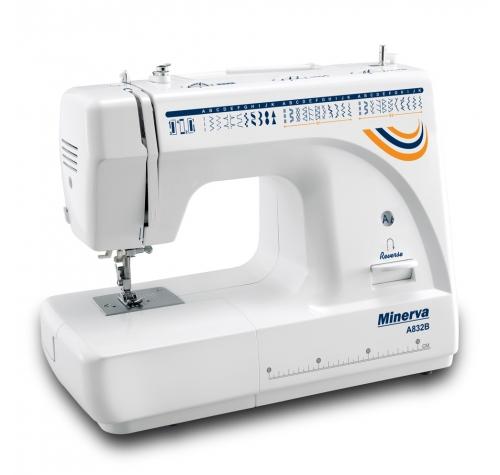 Minerva A832B - фото в интернет–магазине швейных машинок и аксессуаров в Украине - Sewgroup