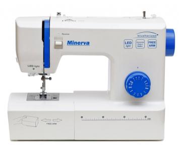 Електромеханічна швейна машина Minerva Bluehorizon