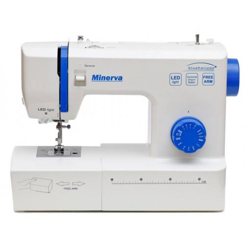 Електромеханічна швейна машина Minerva Bluehorizon - фото в інтернет-магазині швейних машинок і аксесуарів в Україні - Sewgroup