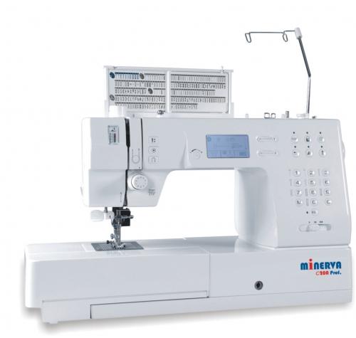 Minerva C20A Prof - фото в интернет–магазине швейных машинок и аксессуаров в Украине - Sewgroup