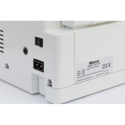 Комп'ютеризована швейна машина Minerva C30 Prof