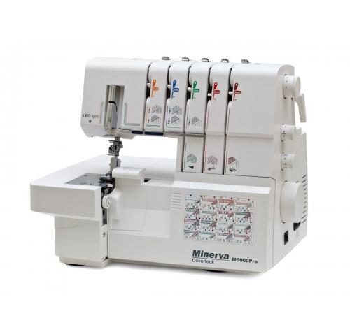 Minerva M5000Pro - фото в интернет–магазине швейных машинок и аксессуаров в Украине - Sewgroup
