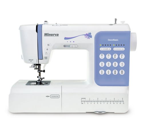 Комп'ютеризована швейна машина Minerva DecorBasic - фото в інтернет-магазині швейних машинок і аксесуарів в Україні - Sewgroup