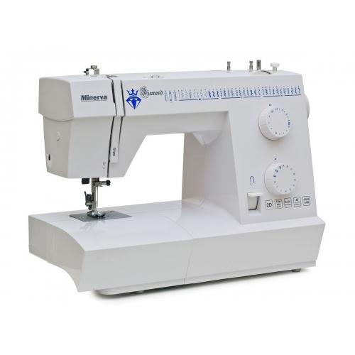 Електромеханічна швейна машина Minerva Diamond - фото в інтернет-магазині швейних машинок і аксесуарів в Україні - Sewgroup