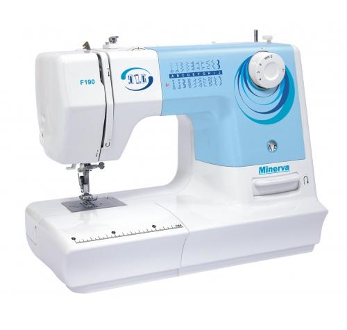 Електромеханічна швейна машина Minerva F190 - фото в інтернет-магазині швейних машинок і аксесуарів в Україні - Sewgroup